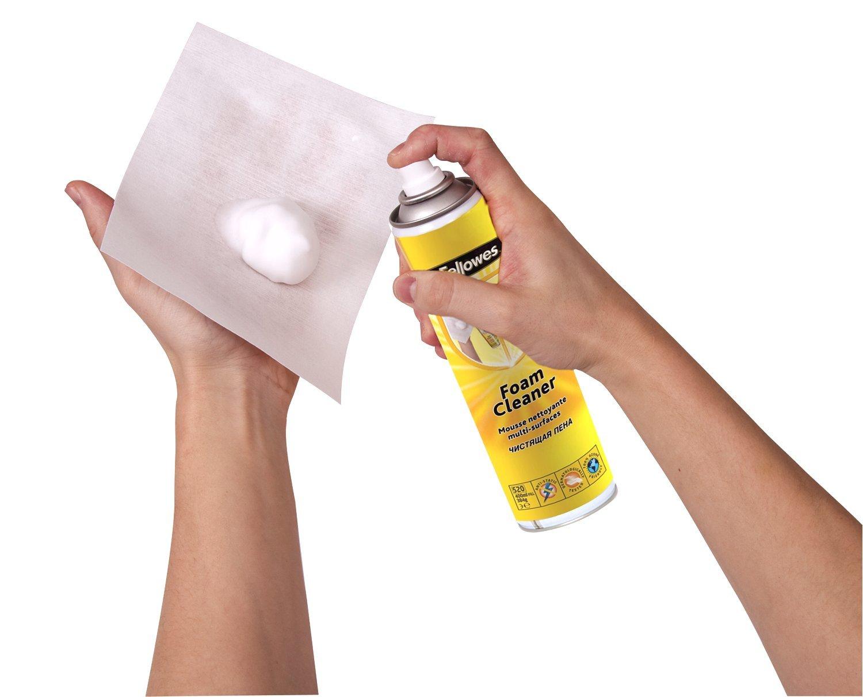 Fellowes 99677 - Espuma limpiadora de superficies para la limpieza de las superficies de plástico, metal y laminados, incluyendo impresoras y escritorios: ...