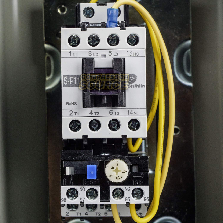 Motor Starter 3 HP @ 480V 4-6 Amp Overload 460-480 Volt Coil 3 HP New