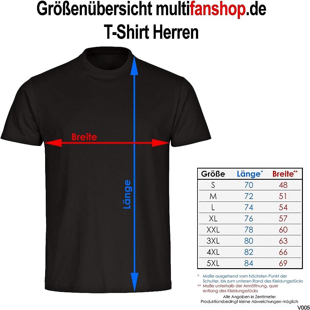 Multifanshop Fankurve Köln - Camiseta para Hombre (Talla S - 5XL Blanco S: Amazon.es: Ropa y accesorios