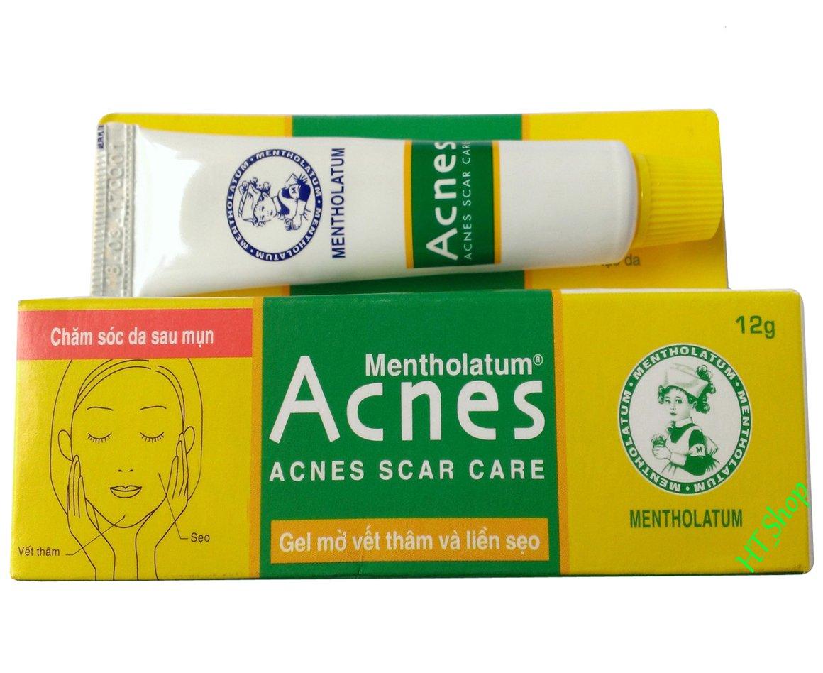 Acnes Scar Care Gel 02 Tubes X 12 Gram Mentholatum Sealing Beauty
