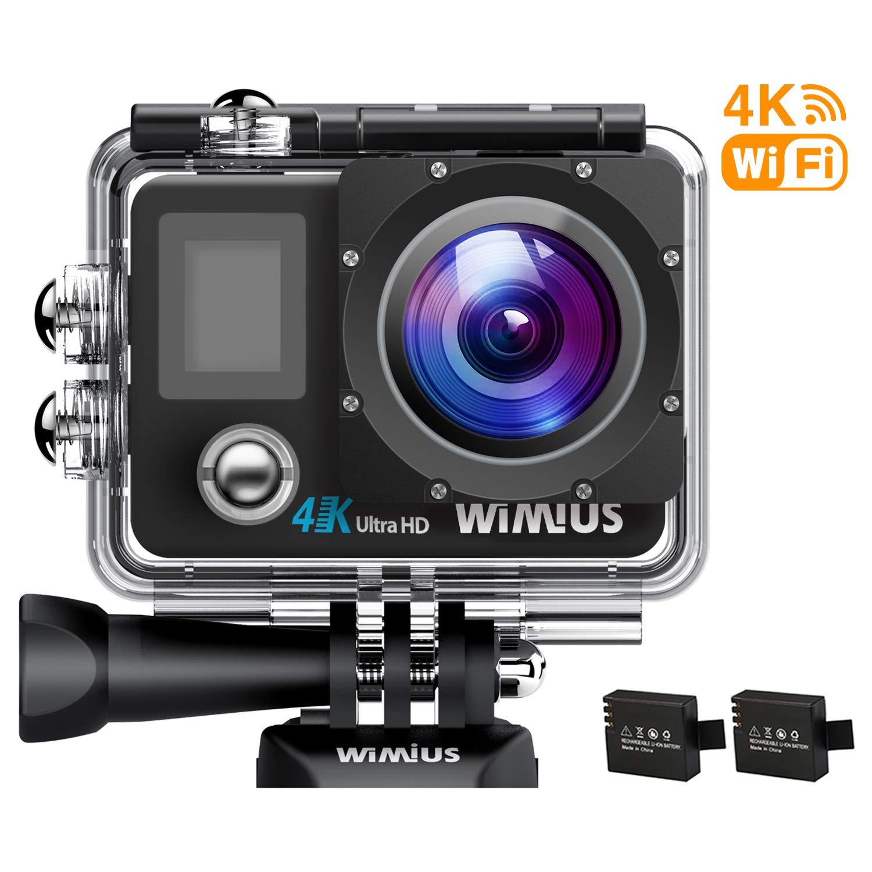 WiMiUS Action Cam 4K WiFi 1080P Full HD