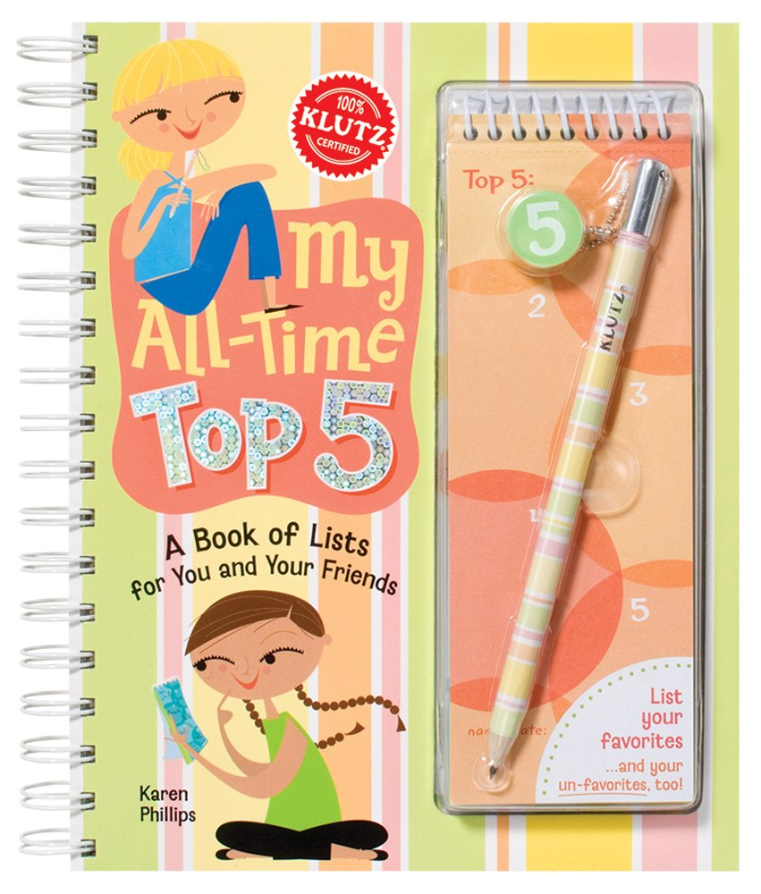Download My All-Time Top 5: A Book of List for You and Your Friends (Klutz) pdf