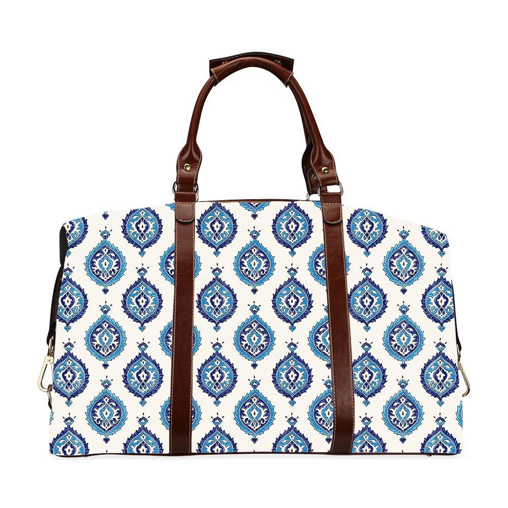 Patterns Printed Travel Handbag Two-sided Printing Classic Travel Bag
