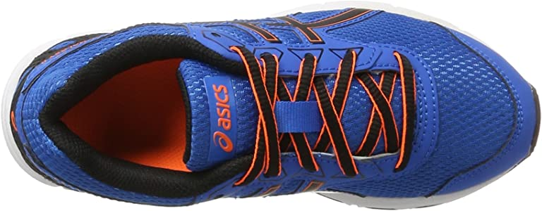 Asics C626N4390, Zapatillas de Running Unisex niños, Azul (Directoire Blue/ Black/Hot Orange), 35 EU: Amazon.es: Zapatos y complementos