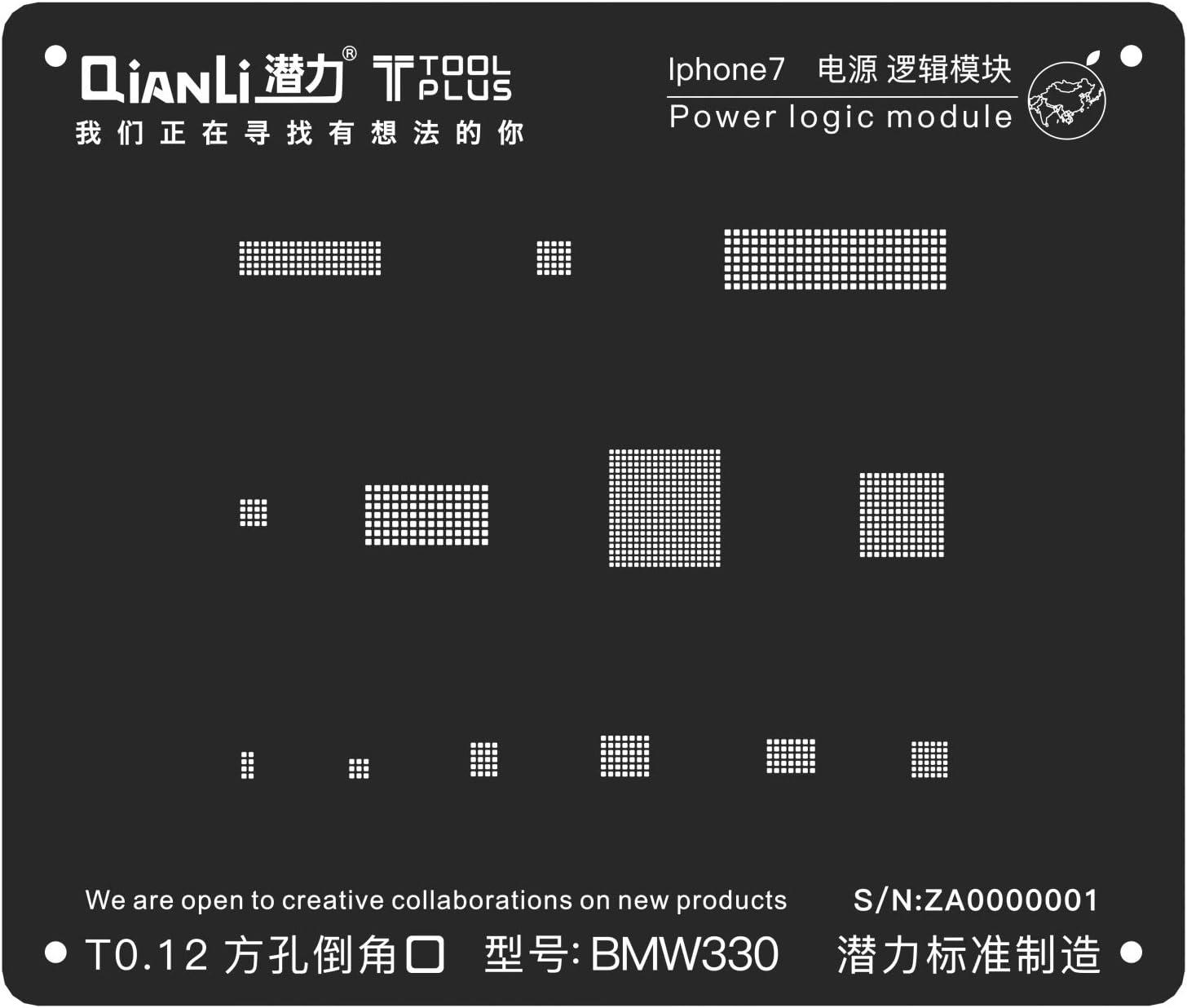QianLi ToolPlus 3D iBlack Stencil for iPhone 6s Power Logic Module