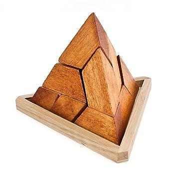 Puzzle cube 5 x 5 x 5 cm Natur NEU Denkspiel Geschicklichkeitsspiel Erzgebirge Holzspielzeug