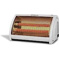 Orbegozo BP 3200 - Estufa cerámica, 2 niveles de potencia, doble botón de funcionamiento,…