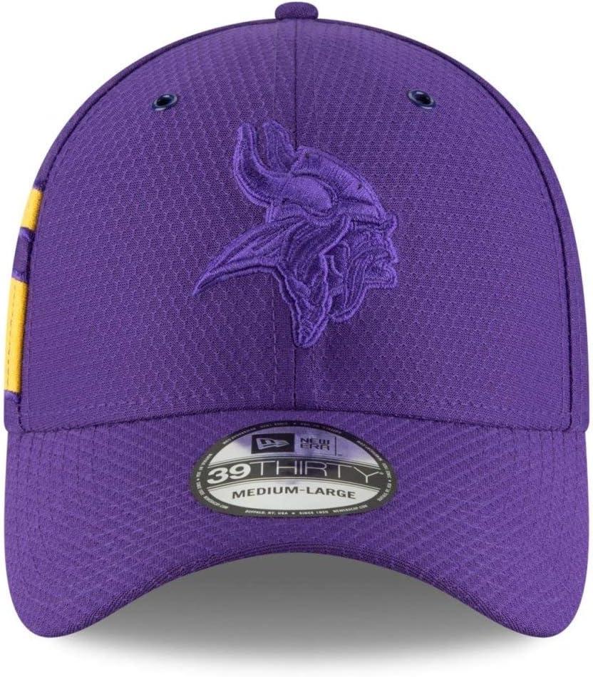 New Era Minnesota Vikings NFL 39Thirty Flex Fit Hat Low Profile Curve Bill Cap