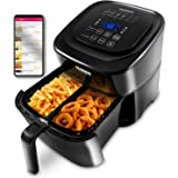 NUWAVE BRIO 6-Quart Digital Air Fryer with one-touch digital controls, 6 easy presets, precise temperature control…