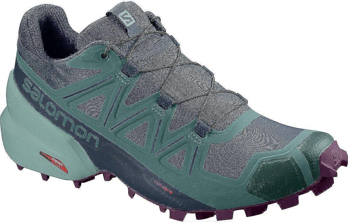 SALOMON Speedcross 5 Wide W, Zapatillas de Trail Running para Mujer