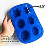 IHOMECOOKER 4PC Silicone Christmas Baking Mold Set