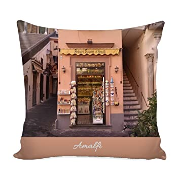 Awesome Amazon Com Amalfi Italy Throw Pillow Cover With Insert Uwap Interior Chair Design Uwaporg