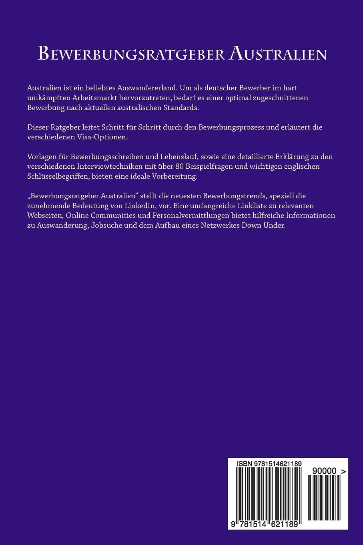 Bewerbungsratgeber Australien: Mit Strategie und Selbstmarketing zum ...