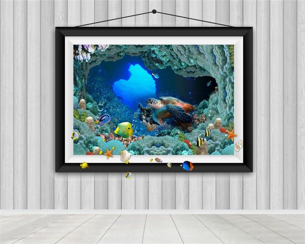Aaloolaa 3 x 2,5 m 3D Marine Style Bilderrahmen: Amazon.de: Kamera