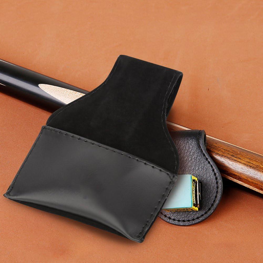 VGBEY Estuche para Tiza Taco de Billar Pool Chalk Holder Chalk Bag Billiard Accessory