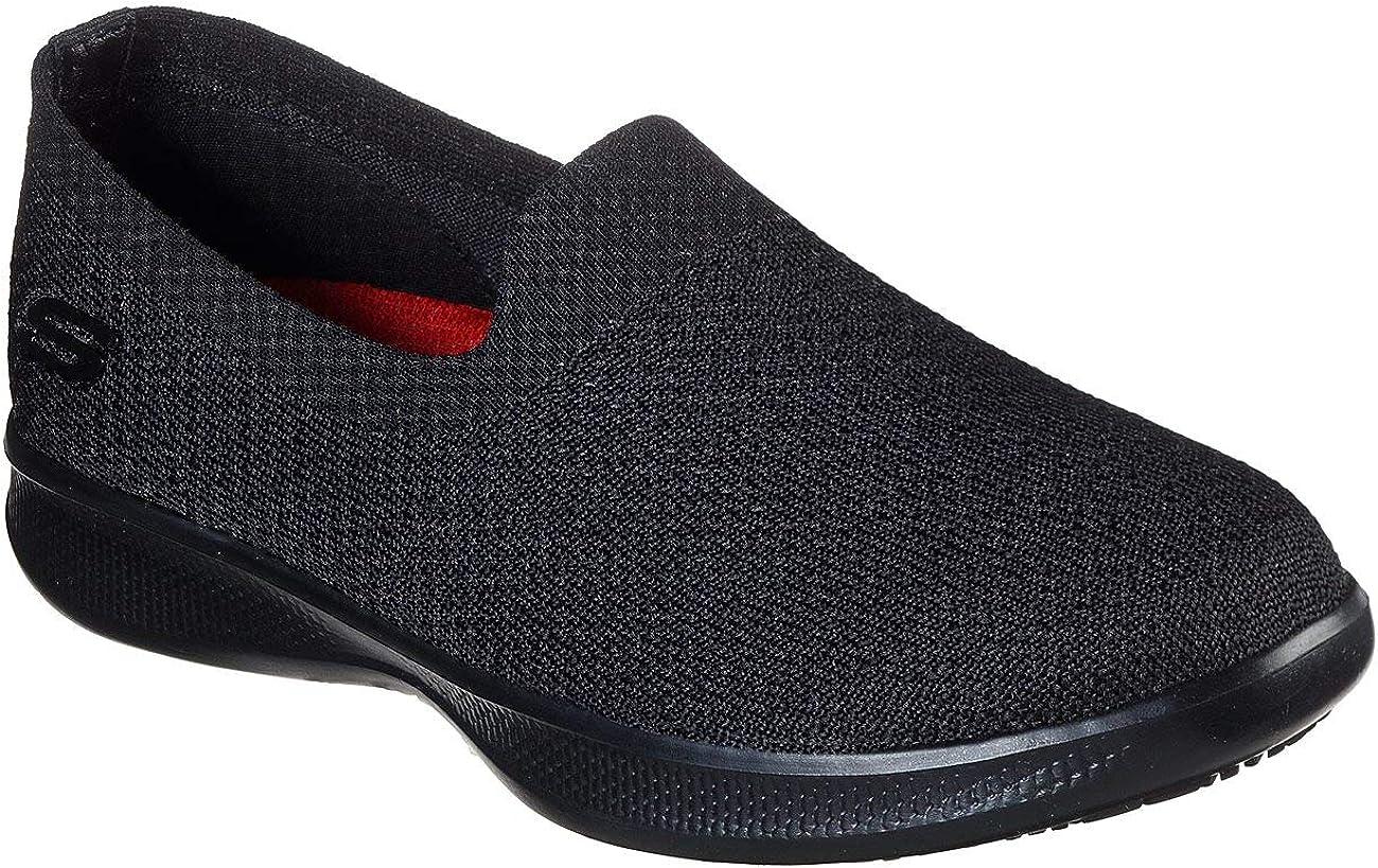 | Skechers Work Relaxed Fit Sunrosa SR Womens Slip On Sneakers | Walking