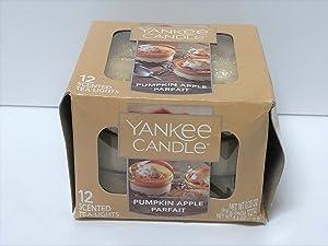 Yankee Candle Pumpkin Apple Parfait Tea Lights - Set of 12