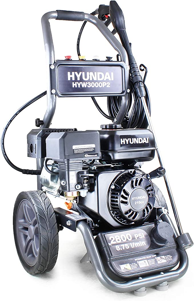 Hyundai Petrol Pressure Washer HYW3000P2 - Sturdy and Reliable
