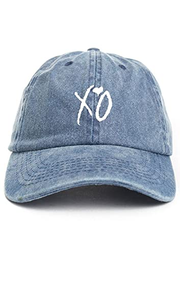 894e78c9449 Image Unavailable. Image not available for. Color  XO The Weekend Denim  Unstructured Hat