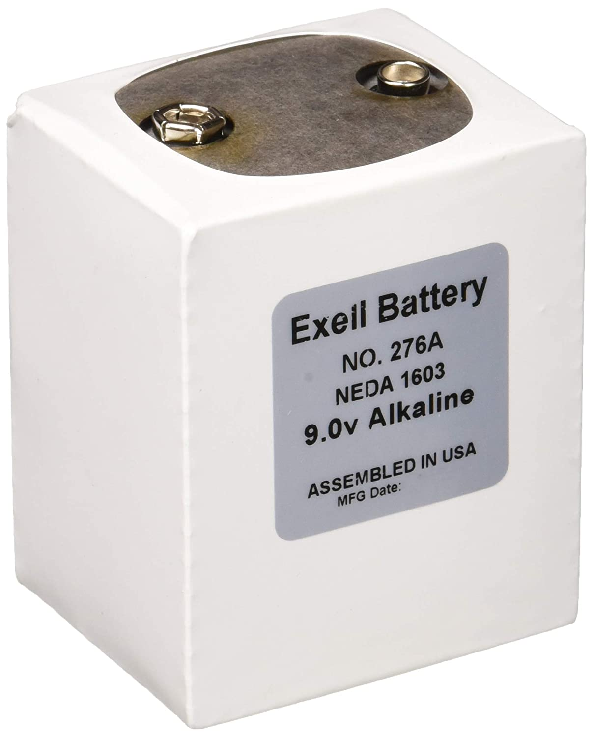 The 276 is a battery replacement for the NEDA 1603 battery