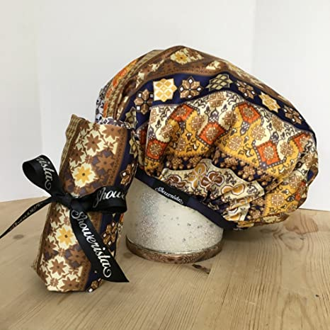 b2ae1791ae0 Buy Boho Chic Reusable Shower Cap by Showerista Online at Low Prices in  India - Amazon.in