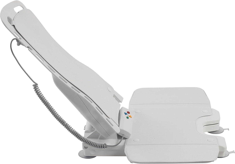 Drive Medical Bellavita Auto Bath Tub Chair Seat Lift, White: Health & Personal Care