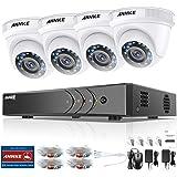 ANNKE Kit Sistema de Seguridad CCTV Cámara de vigilancia Luz estelar 4CH 3MP H.265