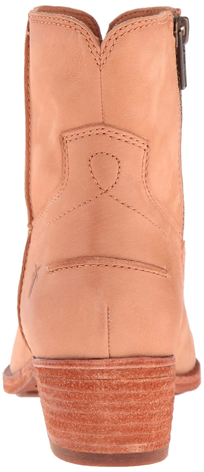 FRYE Women's Ray Seam Short Boot B01015MISK 8.5 B(M) US|Camel Soft Oiled Leather-75884