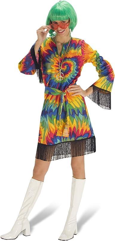 Hippie Gypsy Fiesta Vestido – para disfraz de mujer 60, 70 ...