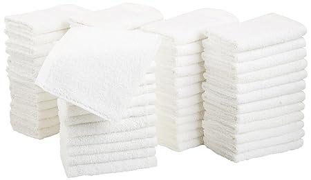 Review AmazonBasics Cotton Washcloths -