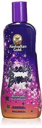 Australian Gold, CHEEKY BROWN Accelerator Dark Natural Bronzers
