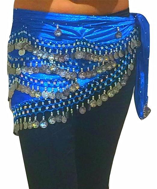 taglia 40 0fb2f 70c89 Ballo di pancia cinghia Sciarpe Costume Danza Coin sciarpe ...