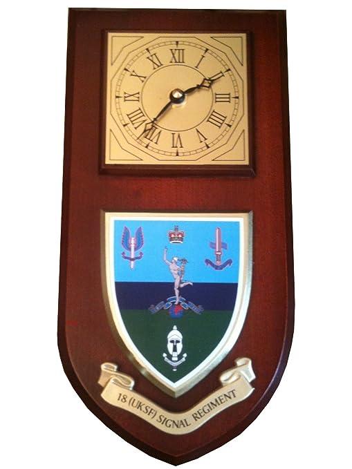 18 UKSF señal Regimiento de Fuerzas Especiales SAS Militares Pared y Reloj
