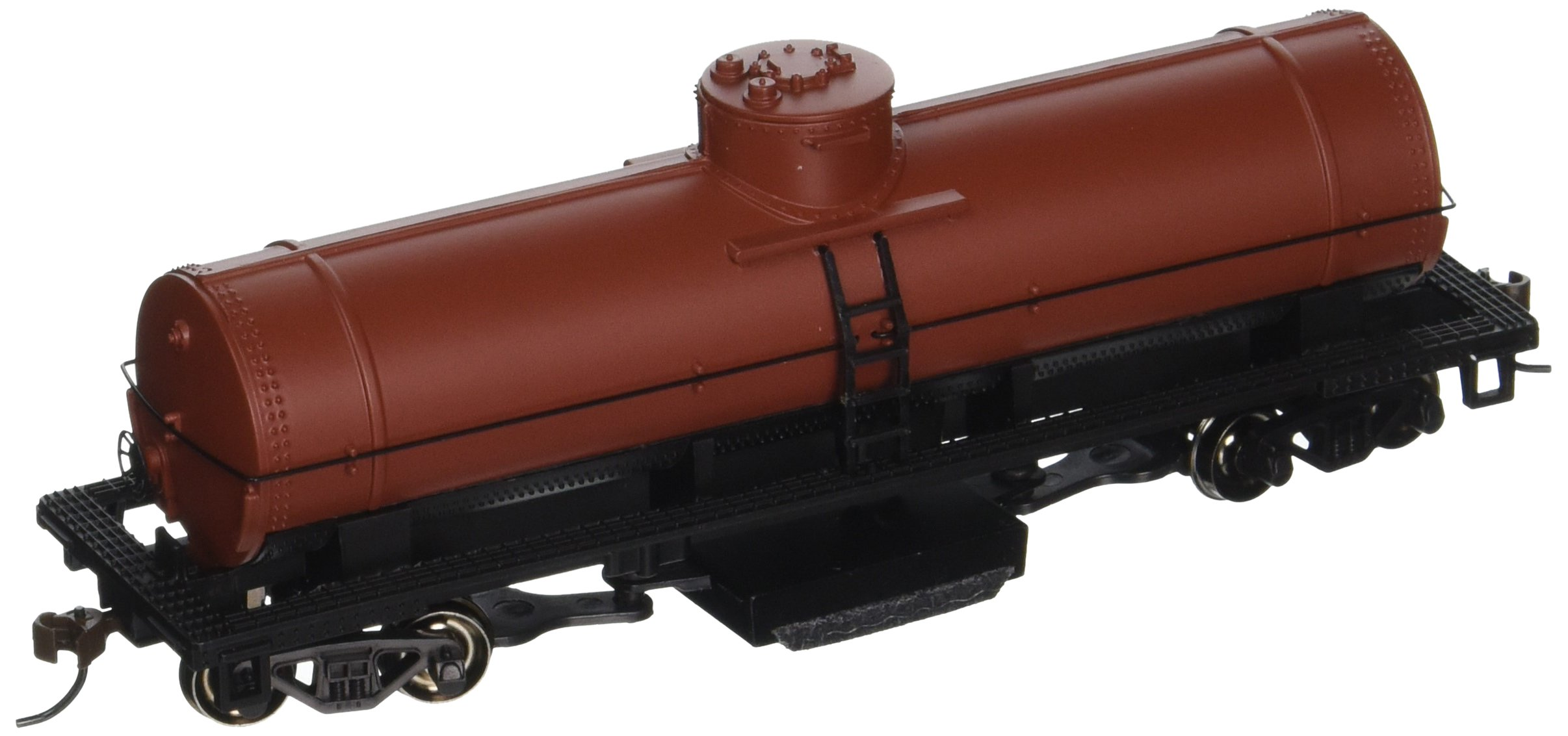 Bachmann Trains Track Cleaning Tank Car-Unlettered-Oxide Red-Ho Scale