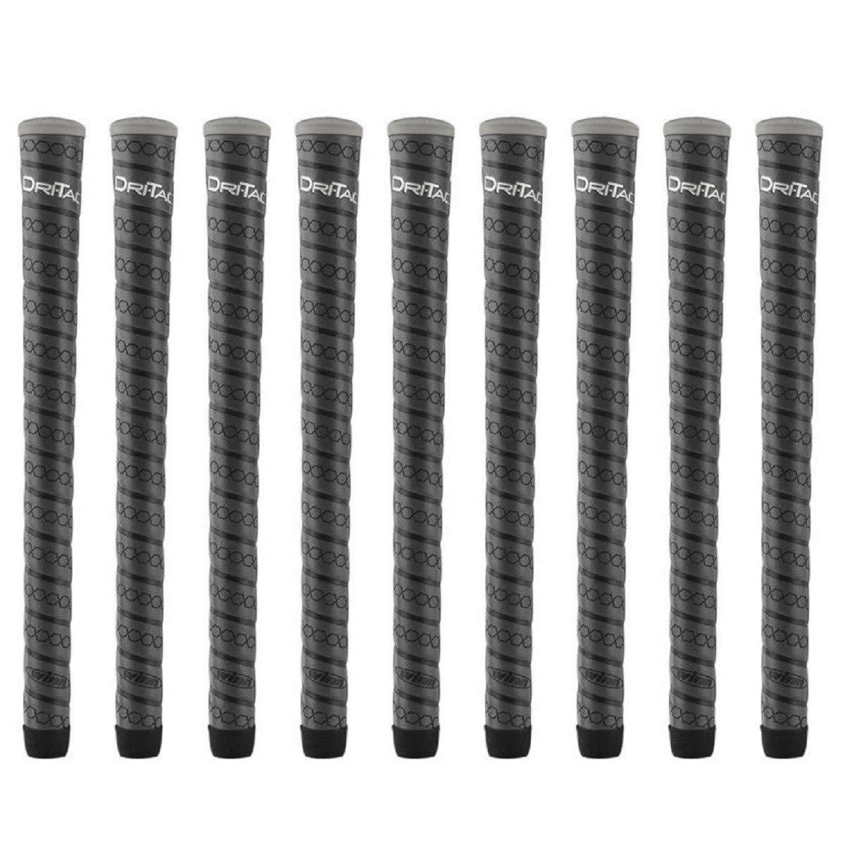 Winn Dri-Tac Wrap Oversize (+1/8'') - 9 Piece Golf Grip Bundle