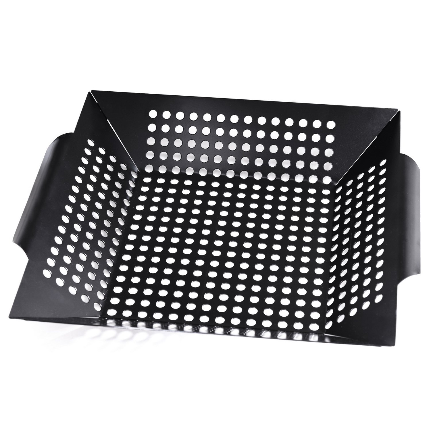 Royal Gourmet Rectangle Non-Stick Rectangle Grill Pan BBQ Basket 12-Inch by Royal Gourmet