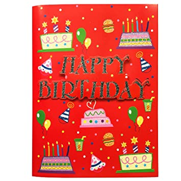 Unique Birthday Card Music Cards Interactive Greeting With Happy To