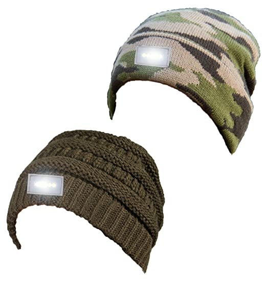 b921c2dc537 H-6007-2-3384 Day Night Beanie Bundle - 1 Olive
