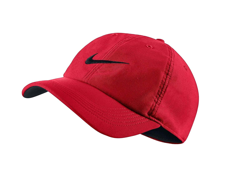 9e376d814cbf9 Galleon - Nike Unisex Aerobill H86 Adjustable Hat University Red Black  729507-657