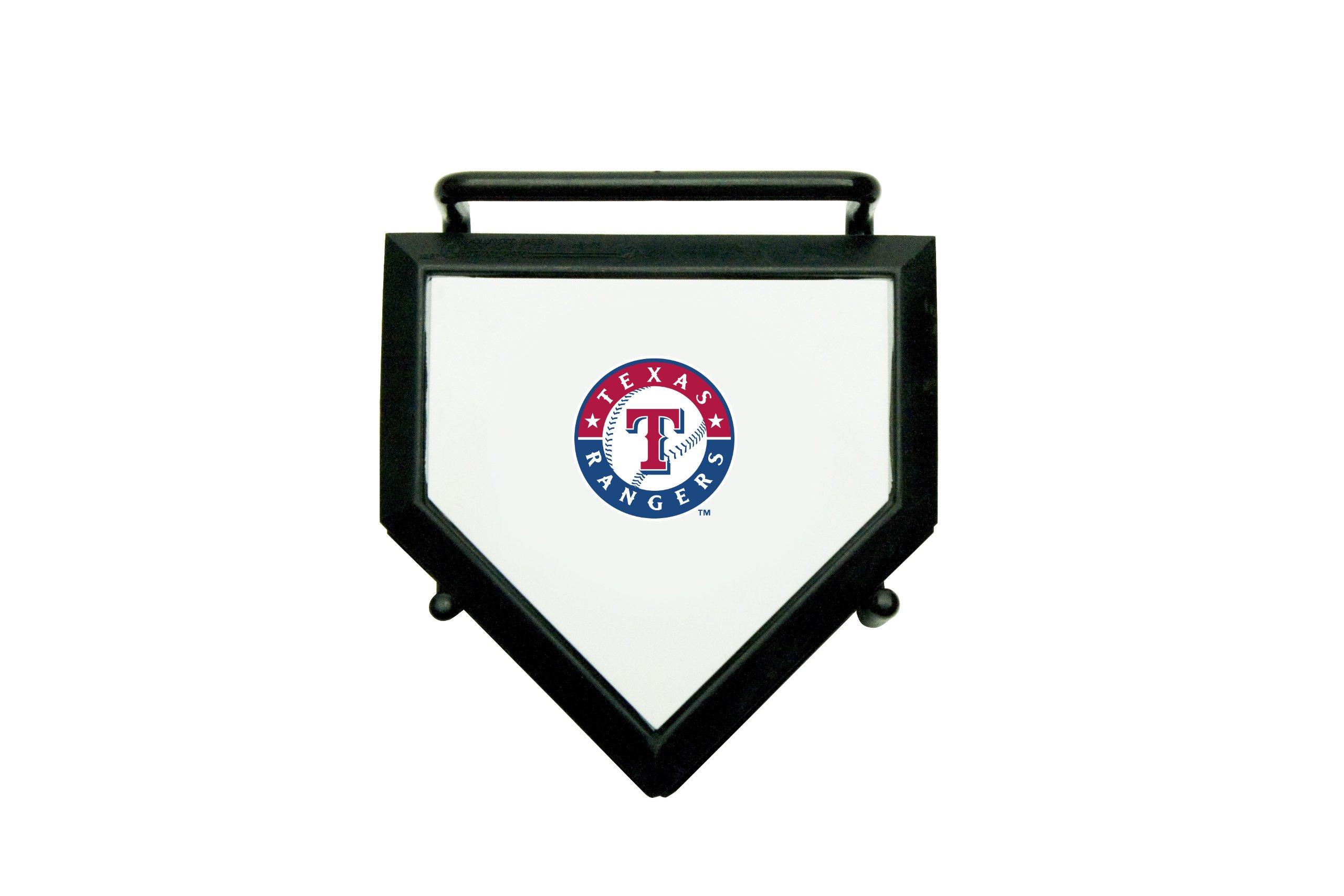 MLB Texas Rangers Home Plate 4-pack Coaster Set