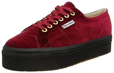 c2db2f8ea9243 Superga 2790-velvetw, Women's Closed-Toe: Amazon.co.uk: Shoes & Bags