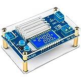 Adjustable Voltage Regulator, DROK DC to DC 5.3V-32V to 1.2V-32V 12V Power Supply Module, 12A LCD Step Down Volt…