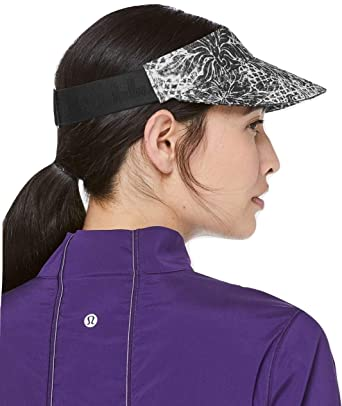 4f5cf469 Image Unavailable. Image not available for. Color: Lululemon Fast Paced Run  Visor ...