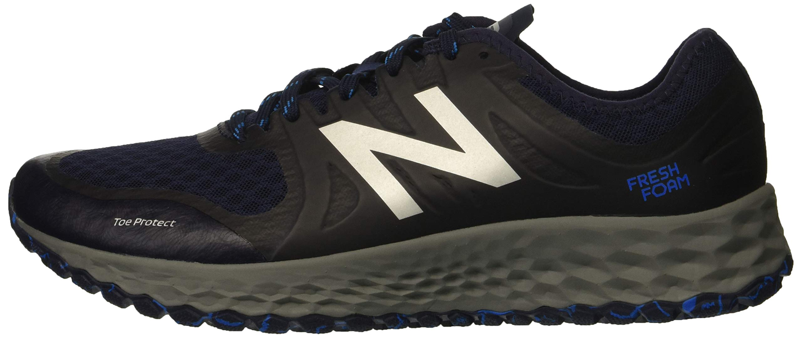 New Balance Men's Kaymin V1 Fresh Foam Trail Running Shoe Pigment/Laser Blue 1.5 D US by New Balance (Image #5)