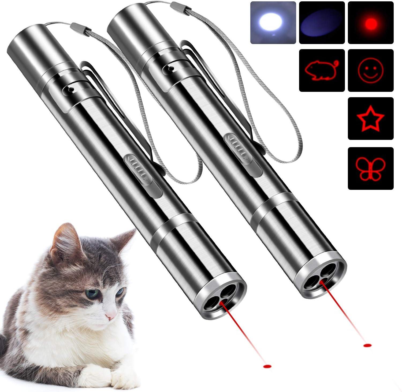 BiuCat C4, Juguetes interactivos para Gatos, Recargables por USB, función 7 en 1, Herramienta de Entrenamiento de Mascotas: Amazon.es: Productos para mascotas