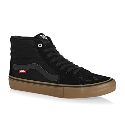 f71961ac4cd6 Vans SK8 Hi Pro Shoes UK 3 Black Gum  Amazon.co.uk  Shoes   Bags