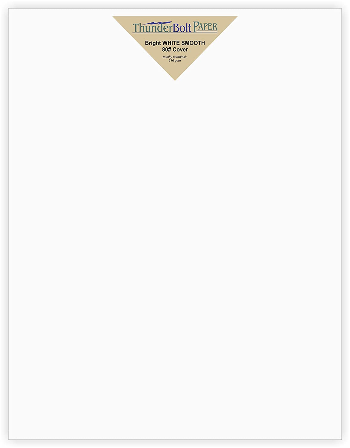 Amazon 100 Bright White Smooth Card Paper Sheets 8 X 10