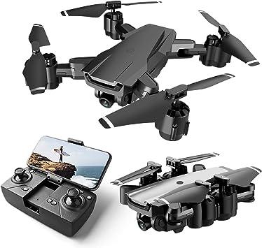 Opinión sobre Drone con Cámara 1080P HD, Mini Drone para Principiante con WiFi FPV, Altitude Hold, Modo sin Cabeza, Plegable, 2 Baterías, Vuelo de 25 Minutos, Control Remoto RC Quadcopter Drone para Adultos y Niños
