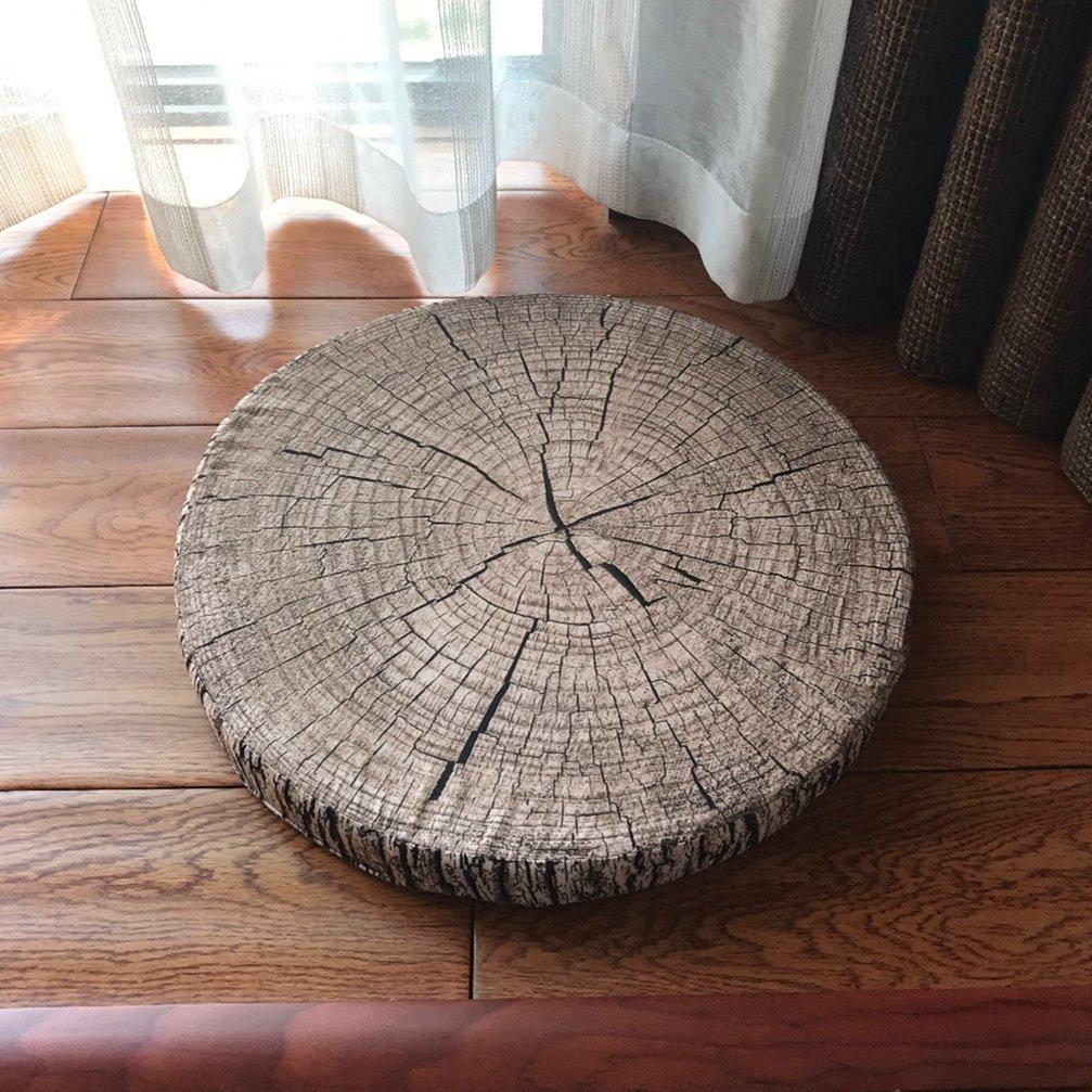MEIZOKEN 1PC Cheap Creative 3D Cute Pillow Stump Coussin Round Chair Seat Cushion Kid Sofa Throw Pillow