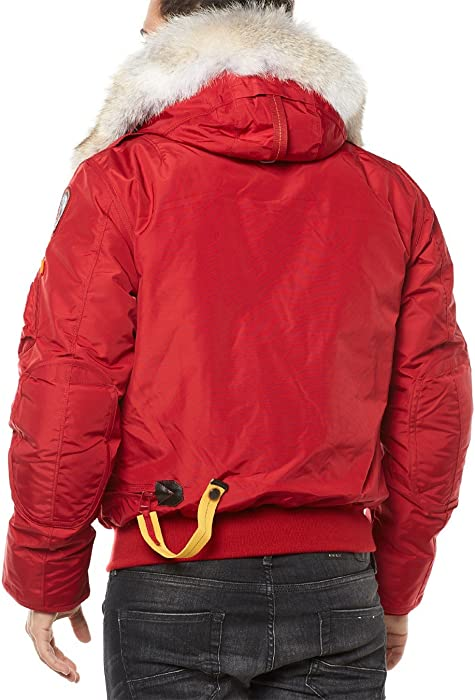 Parajumpers Chaqueta impermeable Gobi XL Rojo: Amazon.es ...